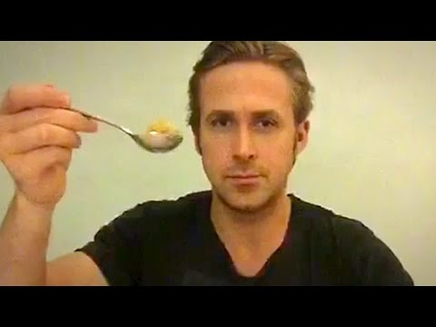 Ryan Gosling Eats His Cereal - A Touching Tribute - SourceFed
