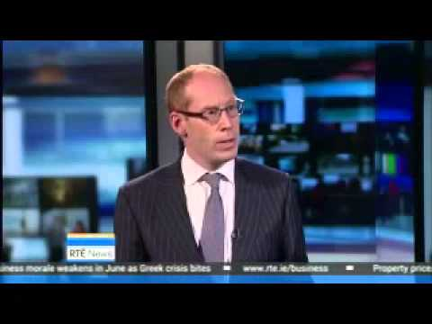 RTE News: John McCartney talks about Irish property prices