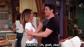 FRIENDS [HD] - Rachel Has a Crush on Joey