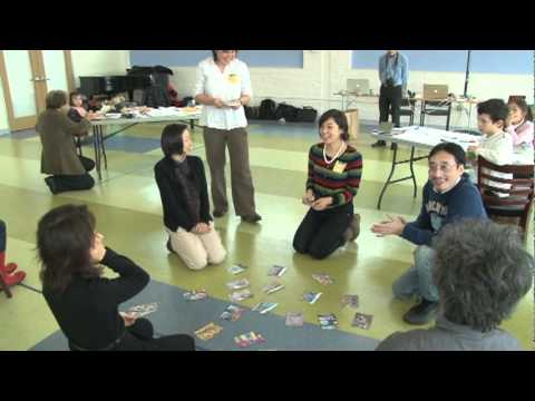 Environmental Karuta Workshop at The Atrium School