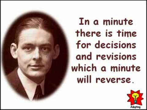 Creative Quotations from T. S. Eliot for Sep 26