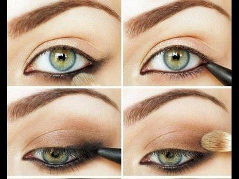 Как сделать красиво сделать макияж из зеленых теней