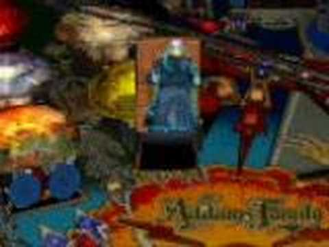 Uncle fester head explotion - Addams family pinball Video