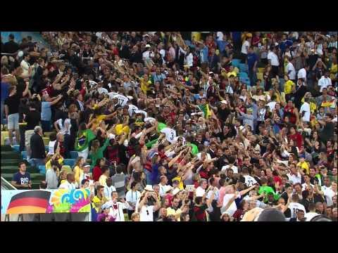 Германия - Аргентина. Церемония награждения. ЧМ 2014