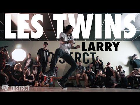 Larry ca Blaze Bourgeois At Distrct Lv | Yak Films X Les Twins video