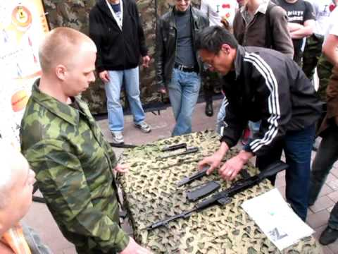 Мастер класс по сборке-разборке оружия - YouTube