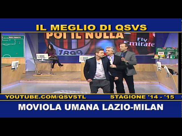 QSVS - MOVIOLA UMANA LAZIO-MILAN - TELELOMBARDIA