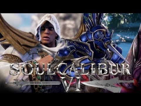 Soul Calibur 6 - Zasalamel (Andyroo) Vs Nightmare (HBTW) Exhibition Match Gameplay 1080p