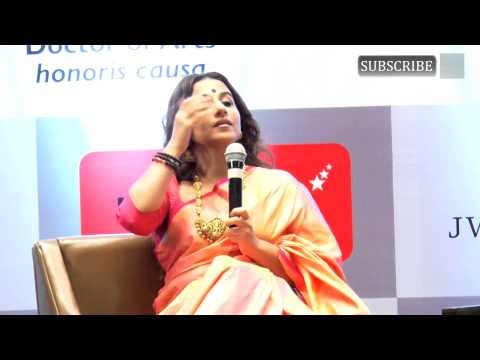 Vidya Balan | Honoured with Doctor of Arts Honoris Causa Degree | Part 3