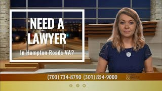 Injured in an Accident in the Hampton Roads Area? Call Today