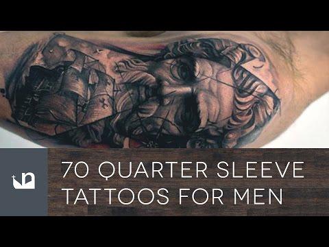70 Quarter Sleeve Tattoos For Men