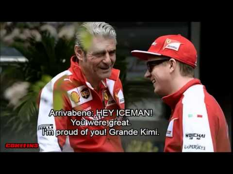 ''Grande Kimi'' Räikkönen's team radio after Bahrain GP 2015