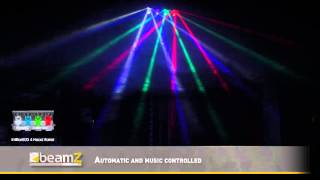 BeamZ IntiBar800 4-Head Barrel 4x 10W LEDs DMX 150.540