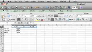Lesson 5 - Select and format Excel data