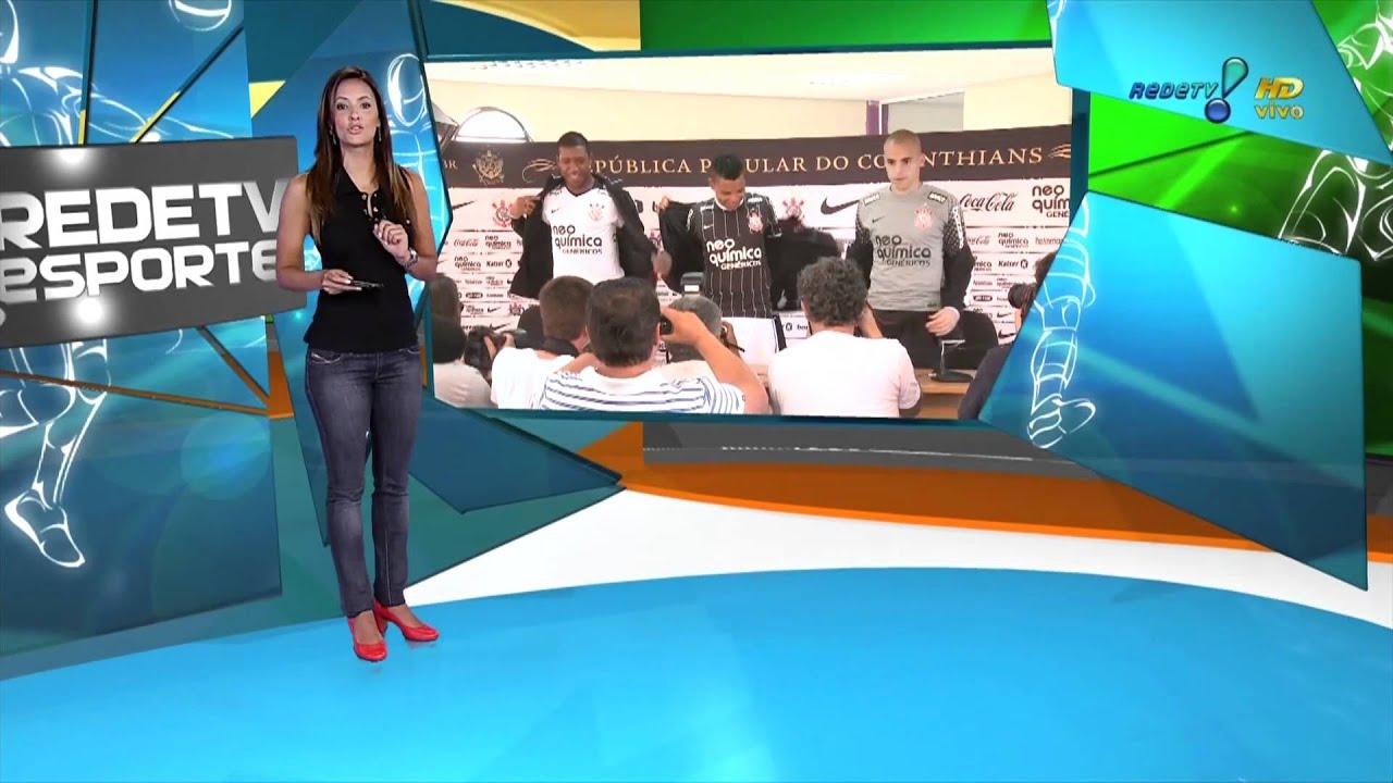 RedeTV Esporte (Paloma Tocci) - RedeTV HDTV - YouTube