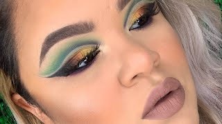 DOBLE CUT CREASE PASO A PASO | MORPHE X JAMES CHARLES PALETTE | GETREADYWITHNYLMA