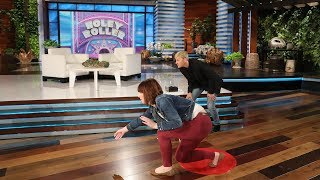 Ellen Gives Deserving Fan an Early Birthday Present with 'Holey Roller'