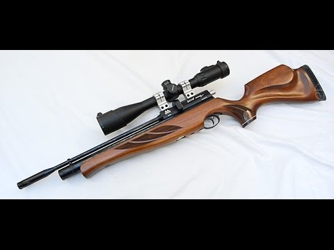 Air Arms S410F Super Lite .22 Cal PCP Precision Air Rifle Review and Shooting!