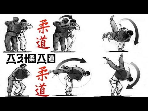 Дзюдо - демонстрация основных приёмов.