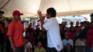 Kenny Uno vs Jota- Final- Batalla de MCs- 7 Calles 7 Artes