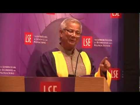 Professor Muhammad Yunus - Social Business: to solve society s most pressing problems