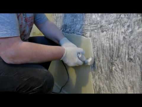 Видео как снять шпаклевку