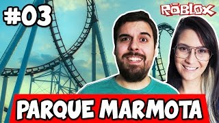 NOSSA PRIMEIRA MONTANHA-RUSSA! - Roblox (Theme Park Tycoon 2)