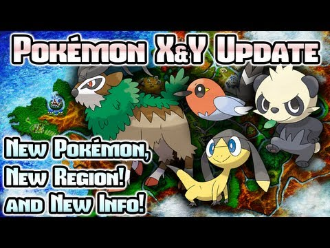 Pok&Atilde;&copy;mon X &amp; Y: New Pok&Atilde;&copy;mon, Kalos Region, and TONS more!