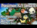 Youtube replay - Pokémon X & Y: New Pokémon, Kalos...