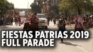 Hundreds turn out for Fiestas Patrias parade in downtown Houston