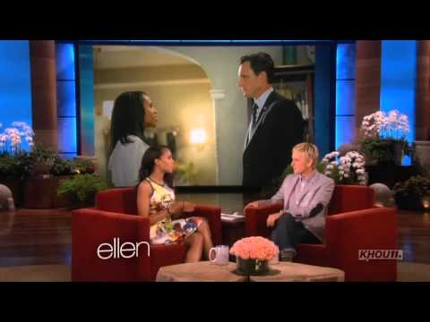 Kerry Washington on The Ellen DeGeneres Show (May 13th, 2013)