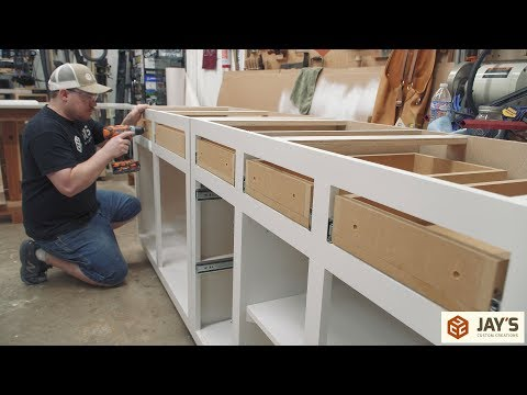 Making DIY Budget Cabinets - Office Remodel part 2