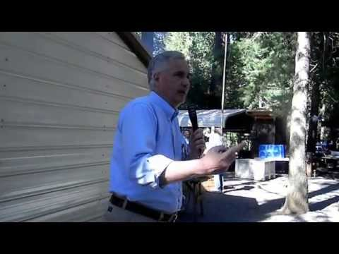 Tom McClintock speaks to El Dorado County Republican Party BBQ