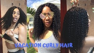 SUMMER VACATION CURLY HAIR BUNDLES