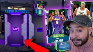 NBA 2K20 My Team FIRE NEW SPOTLIGHT PACKS! AMETHYST KOBE!!!!