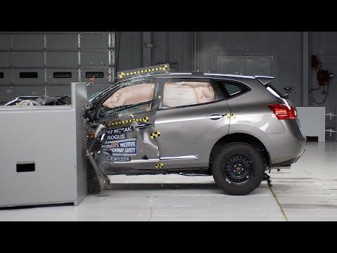 2012 Nissan Rogue, краш-тест
