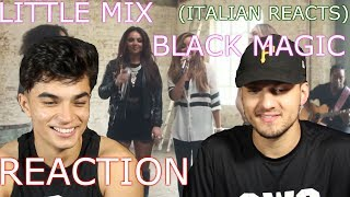 Little Mix BLACK MAGIC Reaction (His first reaction)