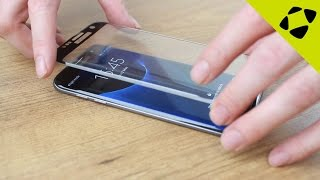Olixar Samsung Galaxy S7 Edge Curved Glass Screen Protector Installation Guide
