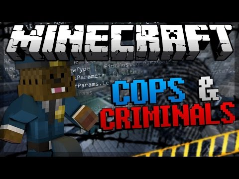 Cops and Criminals Minecraft Minigame (Counter Strike) #2