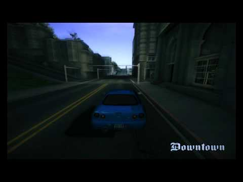 [GTA:SA] Nissan Skyline GTR-34 [1080HD]
