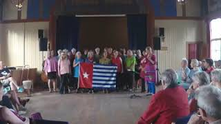 New Freedom Song for West Papua.