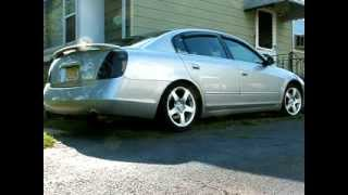 2002 Nissan Altima 3.5 SE with Custom Exhaust and Intake