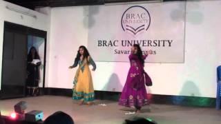 RS 40,Shurjodoy twins on cultural night ( রোদ পুতুলের আল্পনা )