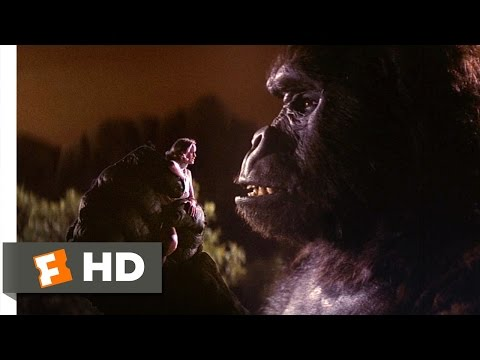 King Kong (2/9) Movie CLIP - Put Me Down! (1976) HD