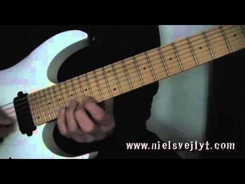 Lesson Guitar - Alternate Picking Harmonic Minor