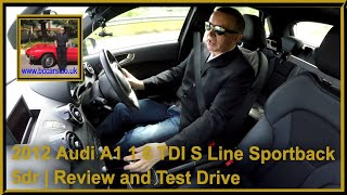 Review and Virtual Test Drive of our Audi A1 1 6 TDI S Line Sportback 5dr