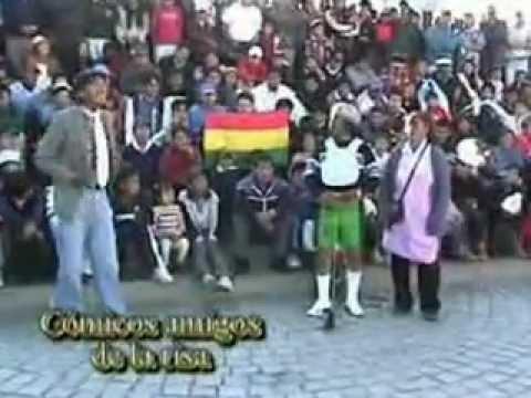 El vago y el corcho (comicos amigos de  la risa Bolivia)