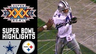 Cowboys vs. Steelers Super Bowl XXX Recap | NFL