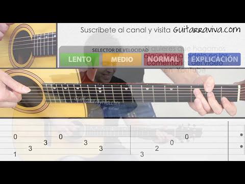 Como tocar Titanic en guitarra facil tutorial punteo Fingerpicking y TAB Fácil ! paso a paso!