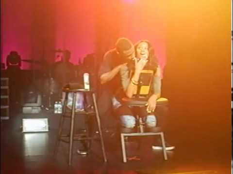 Kissing Trey Trey Songz Kisses Ciara